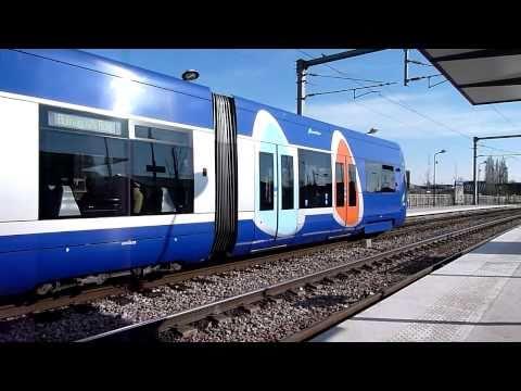 Tram Train T4 - Aulnay-Bondy
