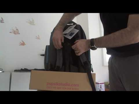 Okkatots travel depot diaper bag - 2016 model - video review