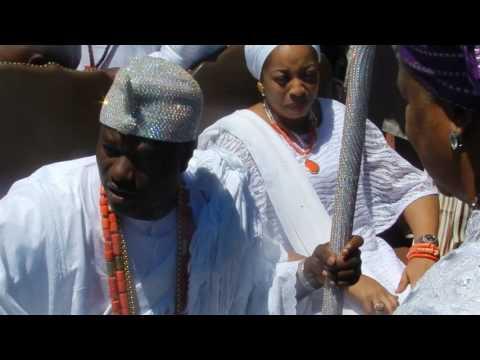 Newark Freeholders Honor His Imperial Majesty, Ooni Adeyeye Enitan Babatunde Ogunwusi, Ojaja II