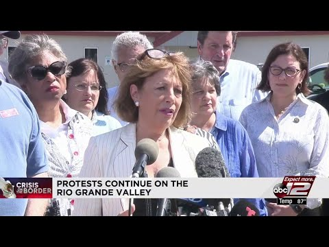 Democratic leaders experience RGV detention centers firsthand