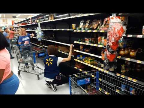 Zakupy przed huraganem Irma w Clearwater na Florydzie (relacja dla Radio RAMPA)