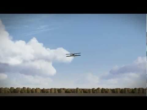 Breguet 14.B2 Test flight