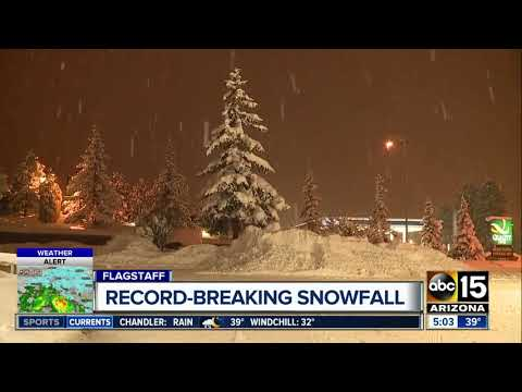 Flagstaff Sets Record For Snow, With More On The Way Friday