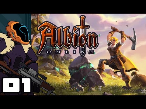 Let's Play Albion Online - PC Gameplay Part 1 - Go Fetch, Then Fetch Some More!