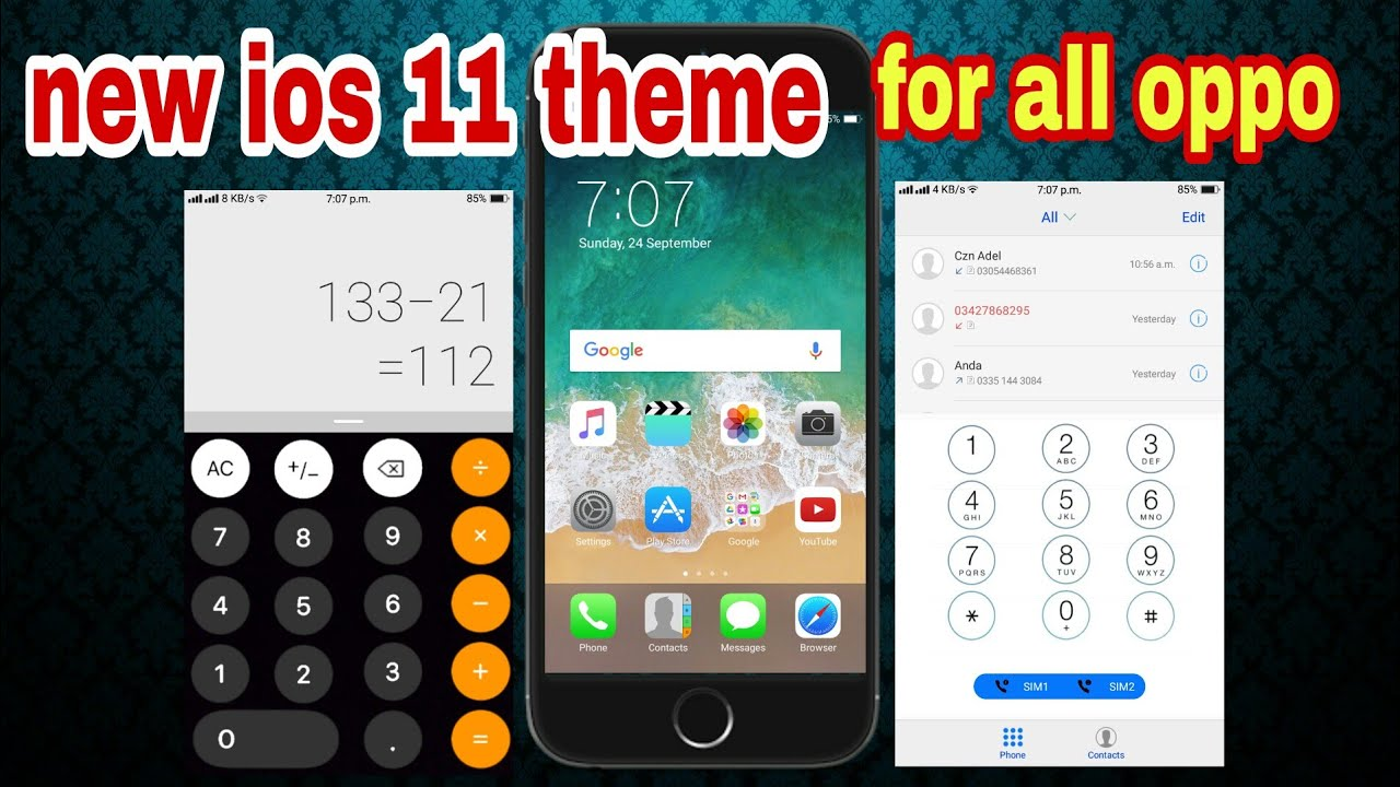 download theme ios 11 for oppo