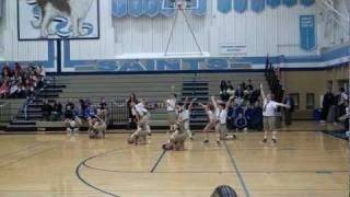 Lynnwood Royal Impat Dance Team @ InterLake High School Feb 11 2012
