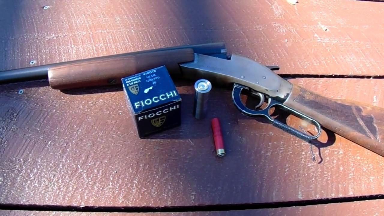 12 gauge shotgun catridge adapter  410 shells, range report SHTF (no  zombies)
