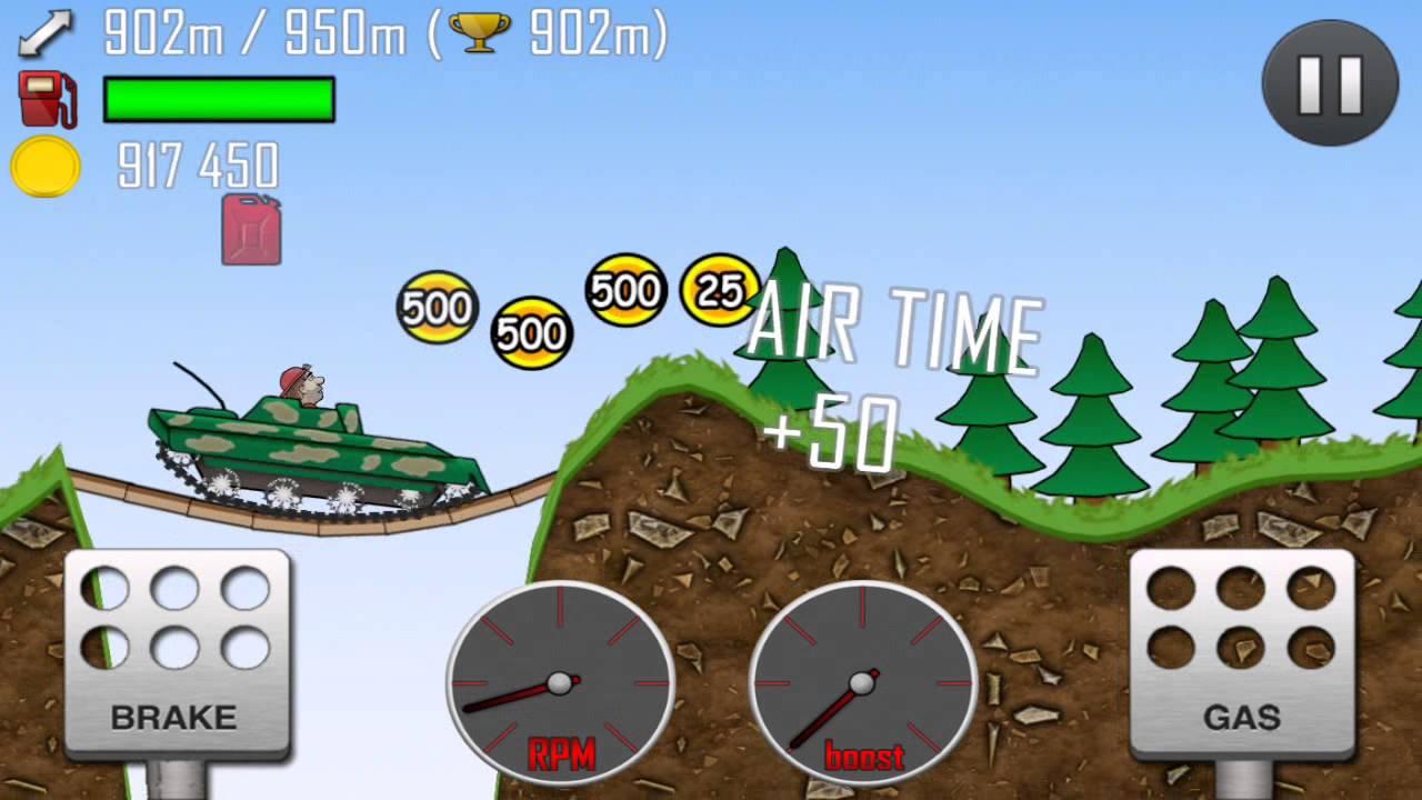 Hill Climb Racing Android Gameplay