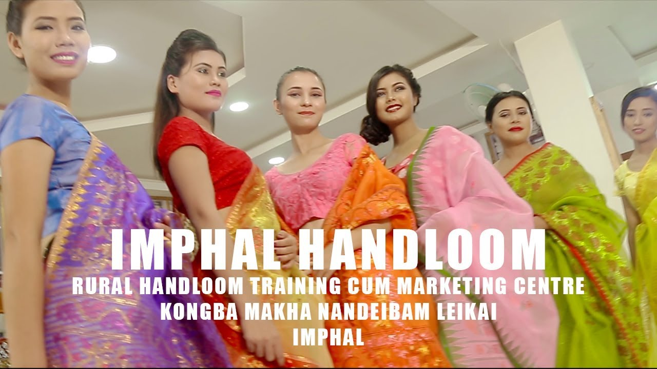 Phige Phanek Silk Weaving An Important Part Of Manipuri Bridal Trouseau By Wildfilmsindia