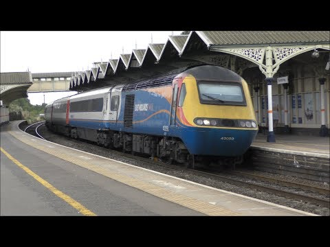 Trains at Kettering, MML *Evening Peak* 10/07/17