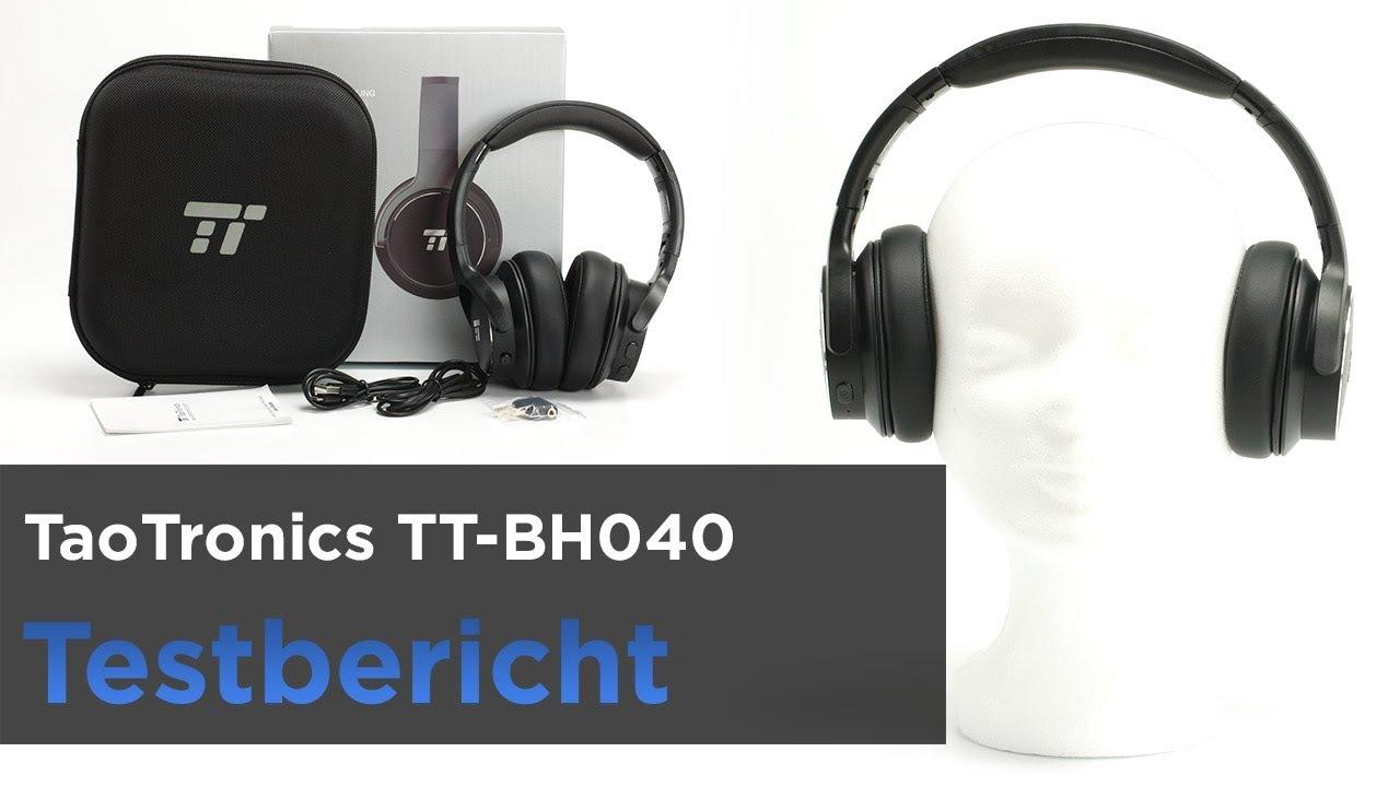 daead28ff75 Taotronics TT-BH040 im Test - Bequemer Bluetooth-Kopfhörer mit ANC ...