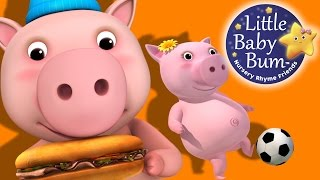 This Little Piggy | Nursery Rhymes | by LittleBabyBum! thumbnail