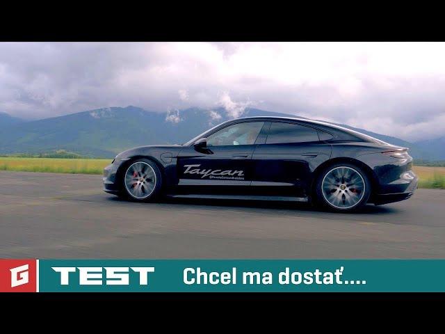 Porsche Taycan 4S - Performance Battery Plus TEST - GARAZ.TV - Rasto Chvala GARAZ.TV