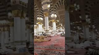 Di Dalam Mesjid Nabawi Saudi Arabia