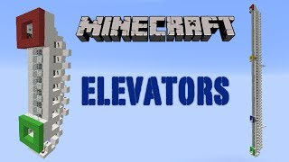 Minecraft Piston Elevator Small and Multi Floor for 1.7.4 Thumbnail