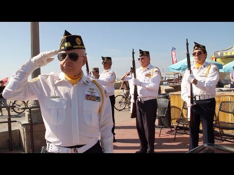Veterans Day Ceremony in Huntington Beach Nov 11 2017
