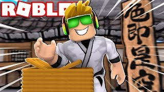 ROBLOX KARATE CHOP SIMULATOR / I CAN BREAK STUFF!!!!