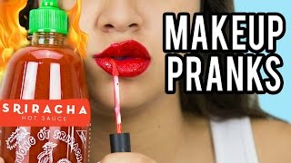 8 MAKEUP PRANKS TO PULL ON GIRLS! NataliesOutlet