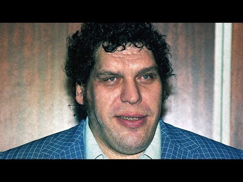 The Tragic RealLife Story Of Andre The Giant