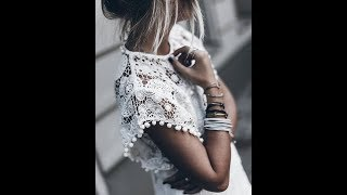 The Most Charming and Chic Lace Women's Spring-Summer Clothes Outfits