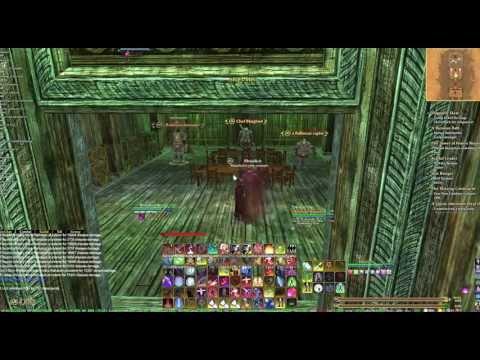 EQ2 Necromancer Gameplay in Dreadcutter Advanced Solo