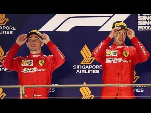 F1 Σιγκαπούρη: Σάρωσε η Ferrari - Επέστρεψε ο Φέτελ