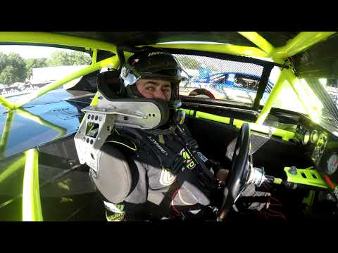 8-25-18 King of Dirt Series In-Car Footage @  Lebanon Valley Speedway