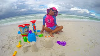 Beach Fun Playtime Bucket Playset Toys Sand Castle Emerald Coast Sandestin Florida|  Toys Academy