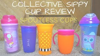 Collective Sippy Cup Review // Spoutless Cups