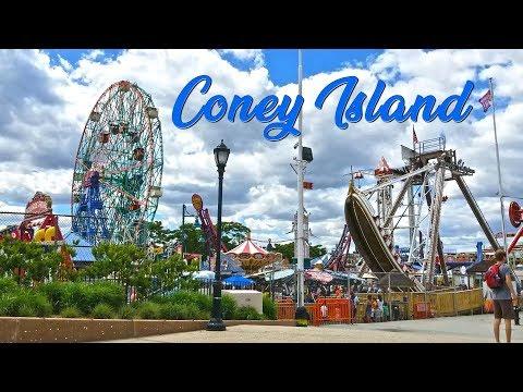 Coney Island And New York Aquarium, Brooklyn, NY
