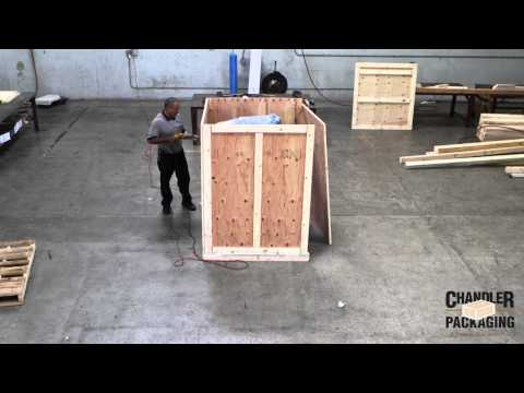 Custom Box Crating Build : Chandler Packaging