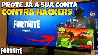 urgent! PROTECT VOTRE ACCOUNT AGAINST HACKERS AT FORTNITE Battle Royale-EASY et FAST 2018