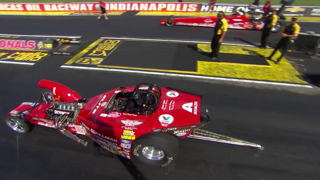 2018 Chevrolet Performance U.S. Nationals Competition Eliminator winner David Rampy