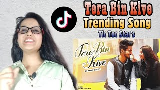 Tere Bin Kive Ramji Gulati Jannat Zubair Mr Faisu Reaction song reaction trending