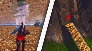 *NEW* GET FULLY UNDER LOOT LAKE USING THIS INSANE GLITCH - FORTNITE SECRET GLITCHES