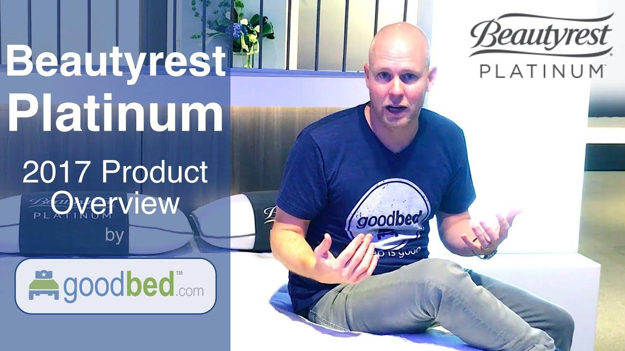 beautyrest platinum 2017 2018 mattress options explained by goodbed com