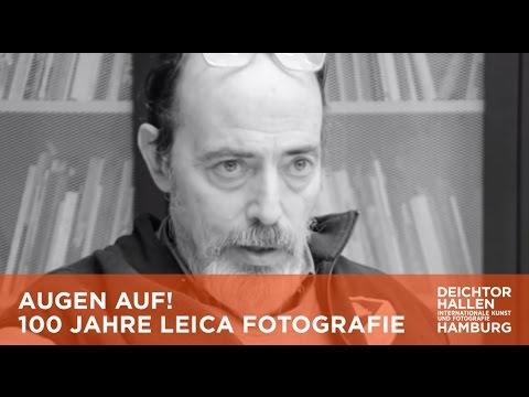 AUGEN AUF! – 100 JAHRE LEICA FOTOGRAFIE: Interview mit MAGNUM-Fotograf Bruce Gilden