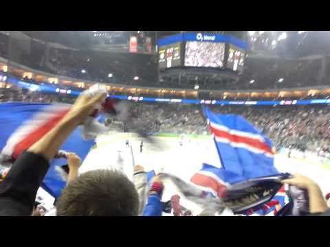 Eisbären Berlin Goal Celebration