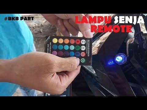 Pasang Lampu Senja Remote