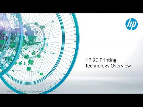 New HP 3D Printing Solutions and Applications
