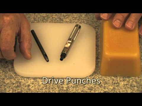 How To Punch Round Holes Using Drive and Rotary Punches