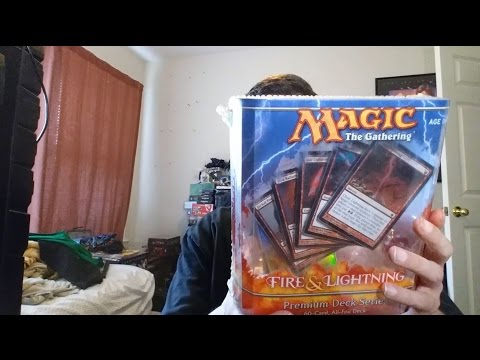 Magic The Gathering - Fire And Lightning Premium Deck Series