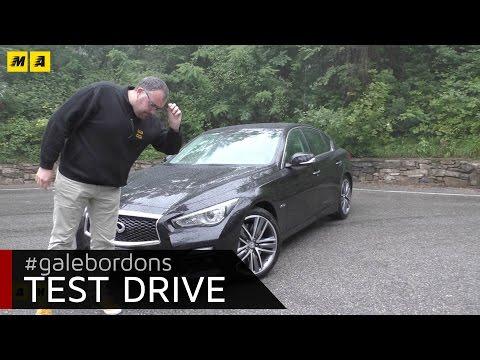 Infiniti Q50   Test drive #AMboxing