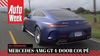 Mercedes-AMG GT 4-door Coupé - AutoWeek review - English subtitles