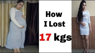 Weight Loss Workout After Pregnancy( C Section/ Surgery) in Hindi   SunnyAndTwinkle