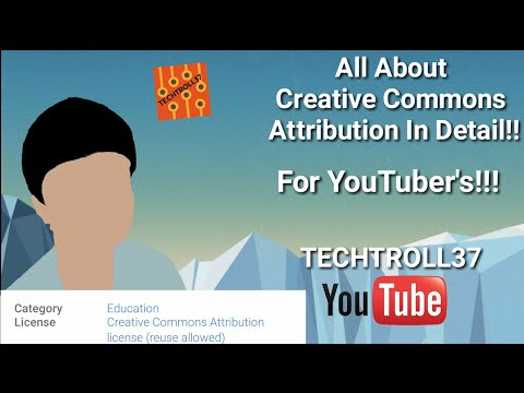 ALL ABOUT CREATIVE COMMONS ATTRIBUTION EXPLAINED FULLY!!! MUST SEE FOR BEGINNING YOUTUBER'S!!!