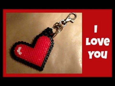 San valentino portachiavi fai da te arte per te for Arte fai da te