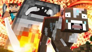 COW LIFE FAIL - Minecraft Animation - FrediSaalAnimations