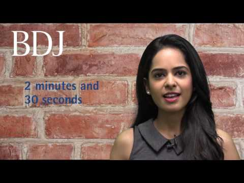 How to make a BDJ Video Abstract for your article with Reena Wadia