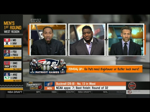ESPN First Take Today - Broncos & Texans will not trade for Tony Romo \/ 2017